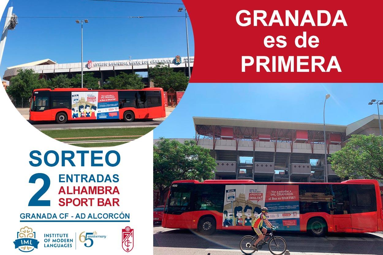 IML Granada con el Granada CF